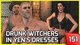 The Witcher 3 ♥ 3 Witchers Get Drunk and Put on Yennefer
