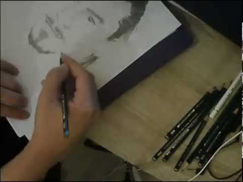 Speed Drawing : Zlatan Ibrahimovic