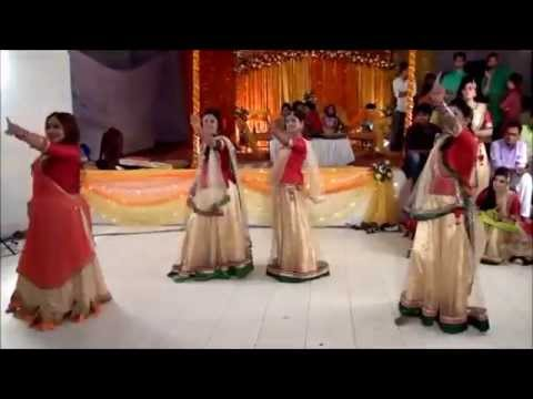 Tanim & Nitol Gaye Holud Dance Performances