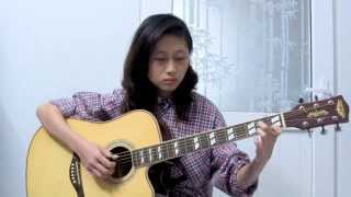 Yuki No Hana (雪の華/Snow flower) - Guitar fingerstyle - Hạc cover (FREE tab)