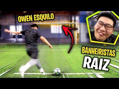 DESAFIO DO TRAVESSÃO RAIZ!!! - DESAFIOS DE FUTEBOL
