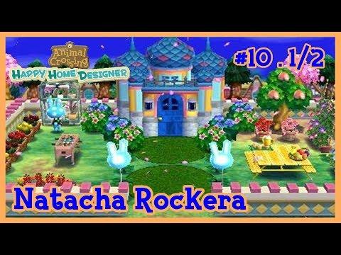 Animal Crossing Happy Home Designer 10 Natacha Rockera Parte 1 2 Youtube