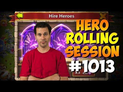 43K F2P Gems In Hero Collector... RARE LEGENDS PLZ!!