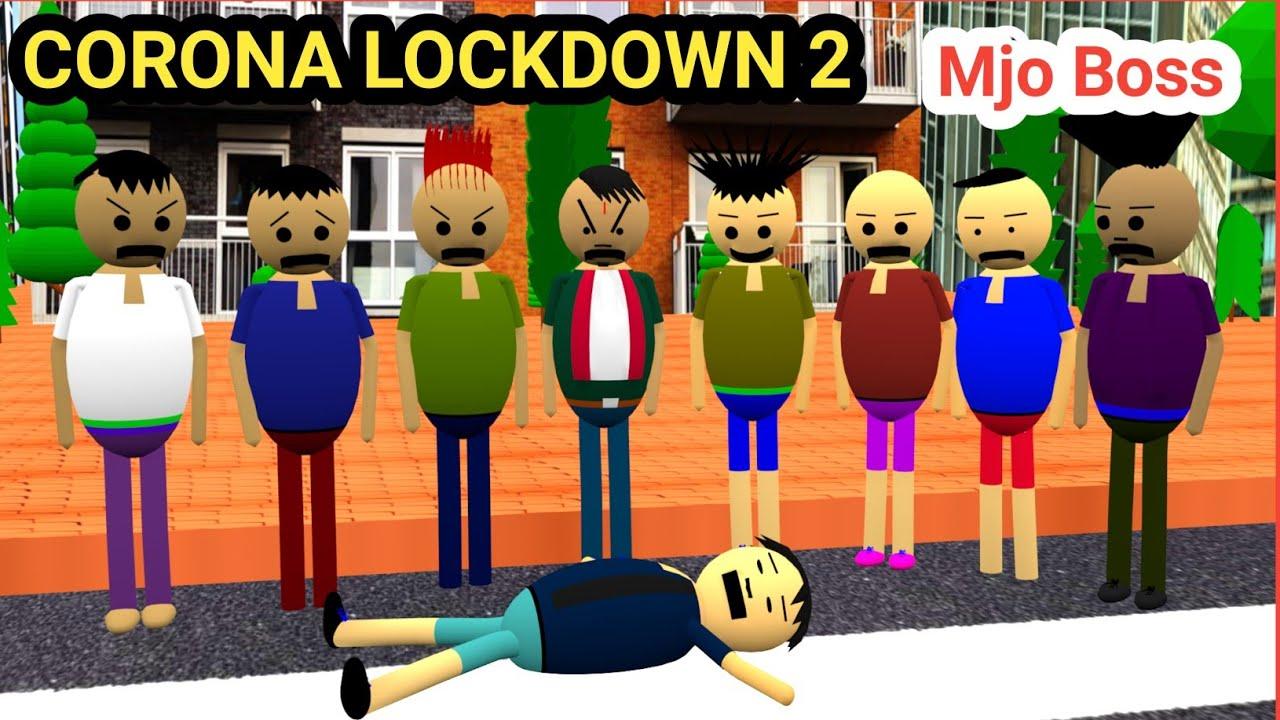 Corona Lockdown 2 | Corona | Covid19 | Corona Lockdown 2021 | Mjo Boss