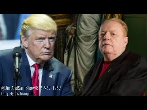 Larry Flynt (Chip Flynt) wants Trump impeached | J&S