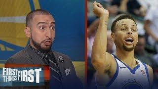 Nick Wright reacts to Steph Curry saying he was 'surprised' by the $50k fine | FIRST THINGS FIRST