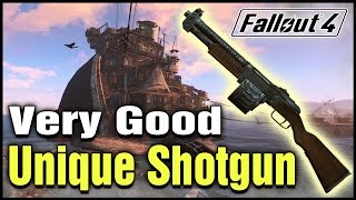 Fallout 4: Fallout 3 The Terrible Shotgun Easter Egg! | Extremely Good Unique Shotgun Location!