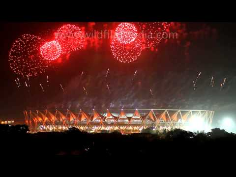 CWG closing ceremony at Jawaharlal Nehru Stadium, Delhi