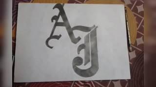 كيفية جعل AJ STYLES شعار (wwe)