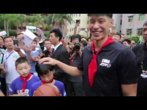 NBA Cares: Jeremy Lin in Shenzhen
