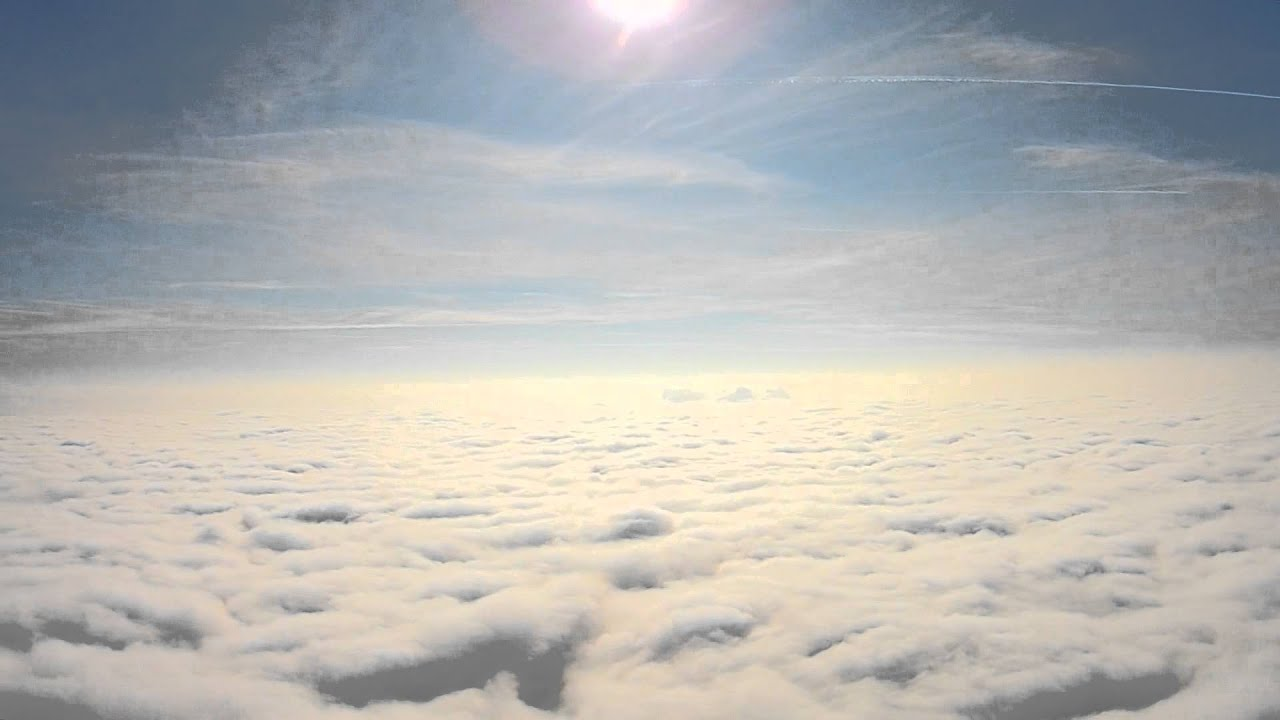 Fly above the clouds youtube