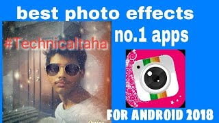 best photo effects no.1 apps for android 2018