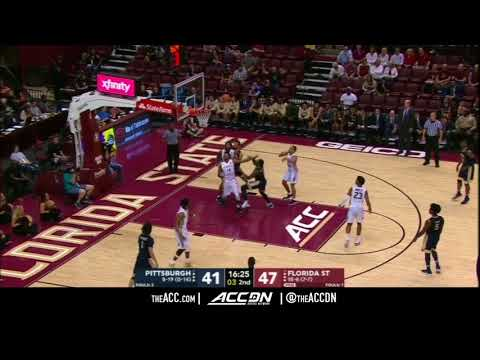 Pittsburgh vs Florida State College Basketball Condensed Game 2018