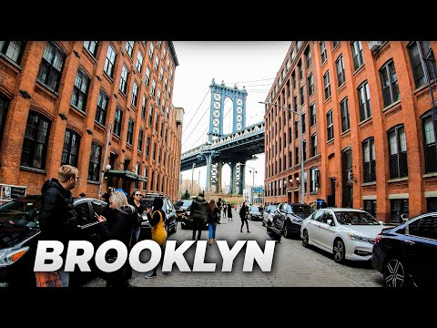 ⁴ᴷ⁶⁰ Walking NYC (Narrated) : Downtown Brooklyn, Brooklyn Heights, Brooklyn Bridge Park & DUMBO