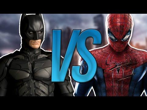СУПЕР РЭП БИТВА:Batman VS Spiderman (Бэтмен ПРОТИВ Человек Паук)