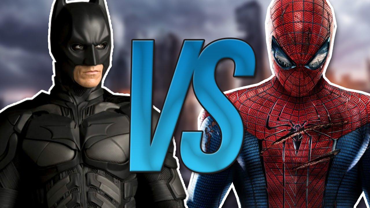 СУПЕР РЭП БИТВА:Batman VS Spiderman (Бэтмен ПРОТИВ Человек Паук .