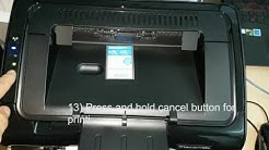 HP LaserJet Pro P1102w Printer(CE658A), How to configure wireless settings