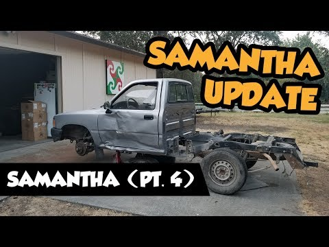 2wd To 4wd Samantha Build Update (pt4)