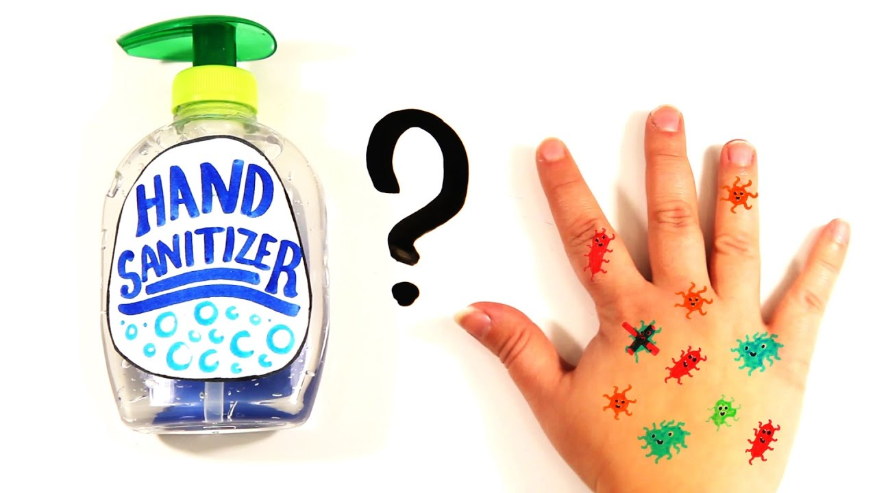 is hand sanitizer actually bad for you youtube