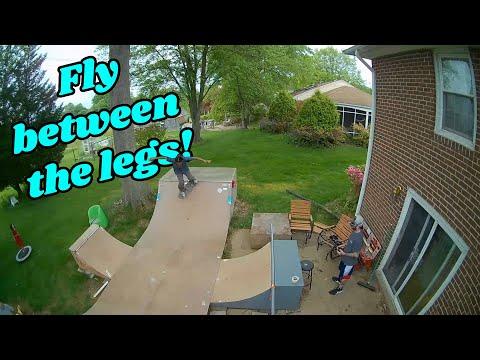 Фото Heads Chases A Skateboard! (Mobula 6 and BetaFPV 65x HD FPV Freestyle)