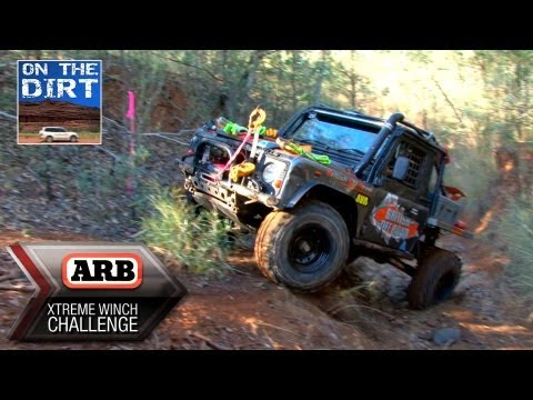 4x4 4WD ARB Extreme Winch Challenge 2013 - Landrover British Offroad