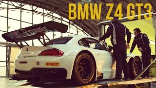BMW Z4 GT3 on the Race Track with Alessandro Zanardi