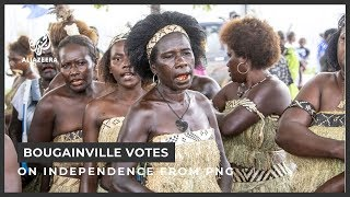 Bougainville votes on independence from Papua New Guinea