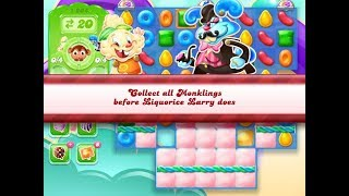 Candy Crush Jelly Saga Level 1204 (3 stars, No boosters)