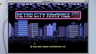 Playing Retro City Rampage 486 on Mac OS 9 using SoftWindows 95