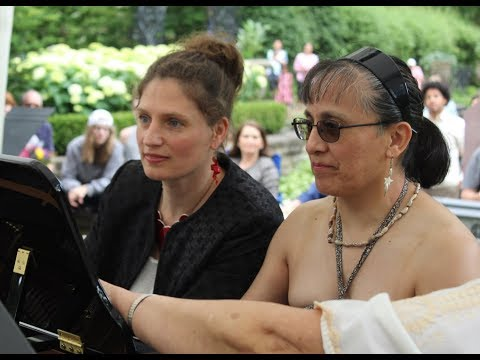 Hungarian Dances by Brahms duet in Cleveland Hungarian Cultural Garden