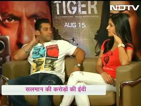 SALMAN KHAN AND KATRINA KAIF INTERVIEW EK THA TIGER (NDTV)