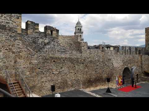 inauguración obras rehabilitación castillo viejo Ponferrada