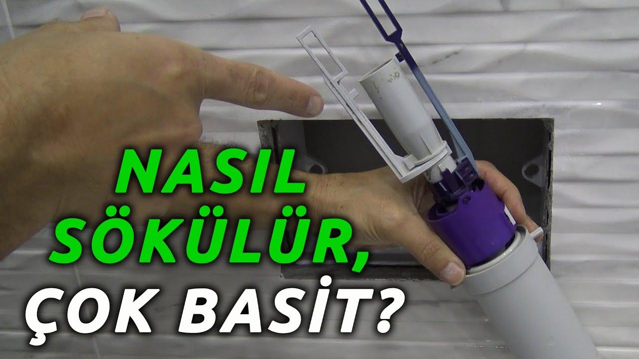 GİZLİ TAHARET ANKASTRE STOP VALF SU KAÇIRIYOR TAMİRİ