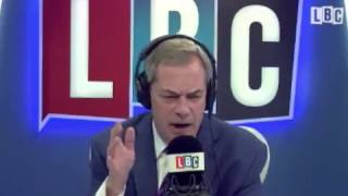Nigel Farage shuts down Remainer who calls him a hypocrite for having a German wife!