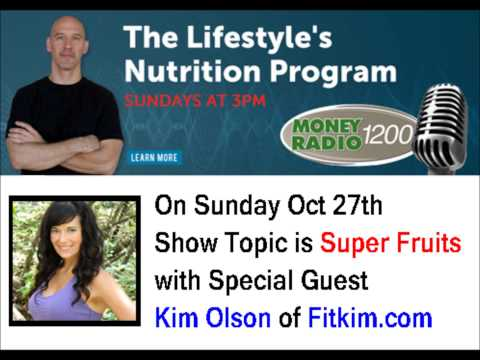 Lifestyles Nutrition Radio Program No 22 Oct 27, 2013