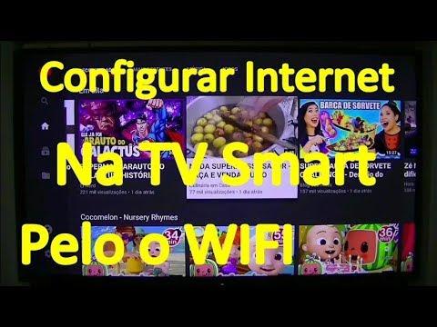 Como Configurar A Internet Na TV Smart Sony Bravia 43 Polegadas Pelo O WiFi