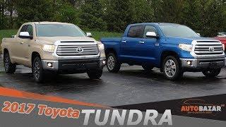 Новая 2017 Тойота Тундра 1794 видео тест драйв. 2017 Toyota Tundra 1794 на Русском. Авто США