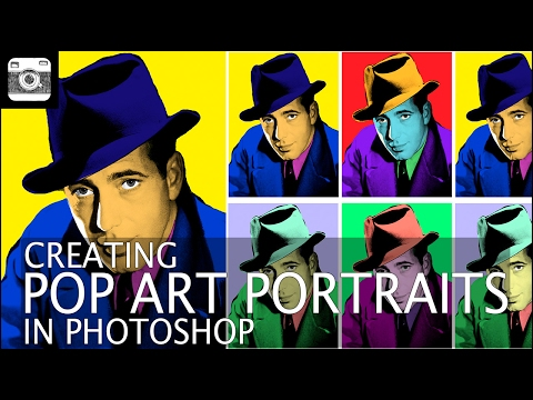 Creating Pop Art Portraits in Photoshop