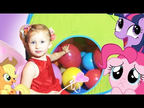 Sonja se PRETVARA u VILU! Moj Mali Poni otpakivanje igracaka MLP My Little Pony Unboxing Toys