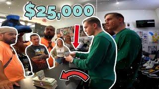 $25,000 Spent Saturday Securing Sneakers!