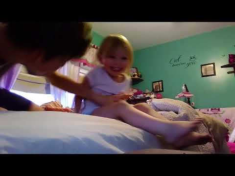 Wrestling my sister pt2