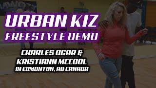 Urban Kiz Freestyle Demo with Kristiann McCool In Edmonton!