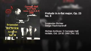 Prelude in A-flat major, Op. 23 No. 8