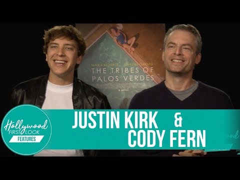 Justin Kirk and Cody Fern Exclusive  The Tribes of Palos Verdes 2017