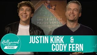 Justin Kirk and Cody Fern Exclusive | The Tribes of Palos Verdes (2017)