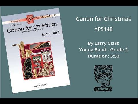 Canon for Christmas (YPS148) by Larry Clark