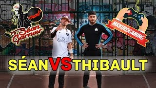 SEAN vs THIBAULT AKA MR. KURO / Trickshot & Freestyle Challenge !
