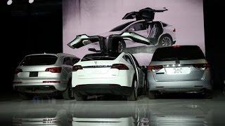 Tesla Model X SUV: First Look