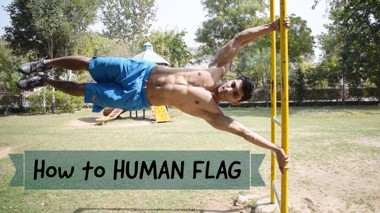 Download HOW TO DO HUMAN FLAG in Hindi   Vikas Choudhary