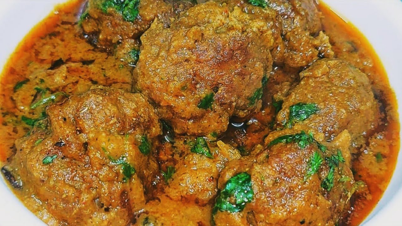 Shahi Mutton Kofta Curry   meat ball curry   bakra eid special kofta curry recipe   koftay ka salan